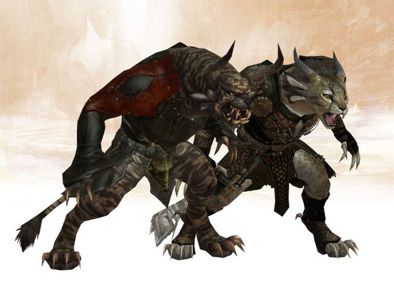 female world of warcraft characters. Female and male Charr,