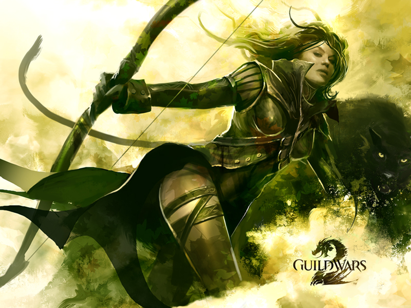 10 reasons to play Guild Wars 2 GW2_RangerWallpaper02_800x600
